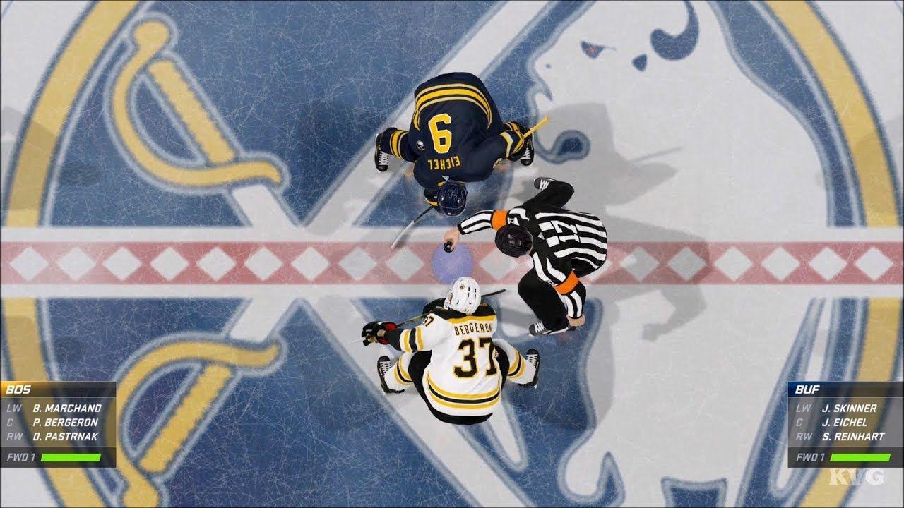 NHL 20 Buffalo Sabres vs Boston Bruins Gameplay (Xbox