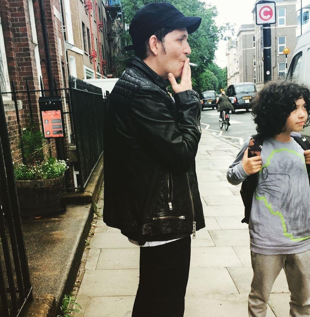 Brian Molko & Cody Molko 2017