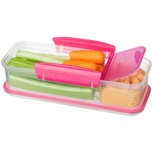 Sistema Pink Snack Attack To Go Container 599 liked on
