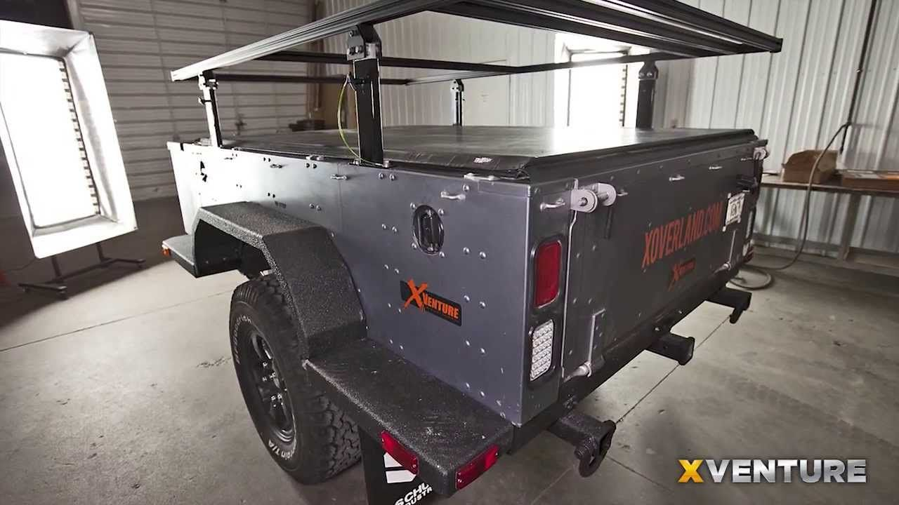 Xventure Off Road Camping And Utility Trailer Design