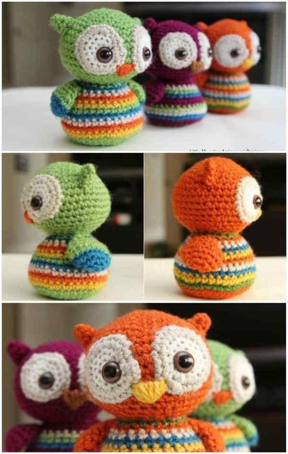 Babies Little Owls - Free Crochet Pattern | 1 Crochet Stuff ...