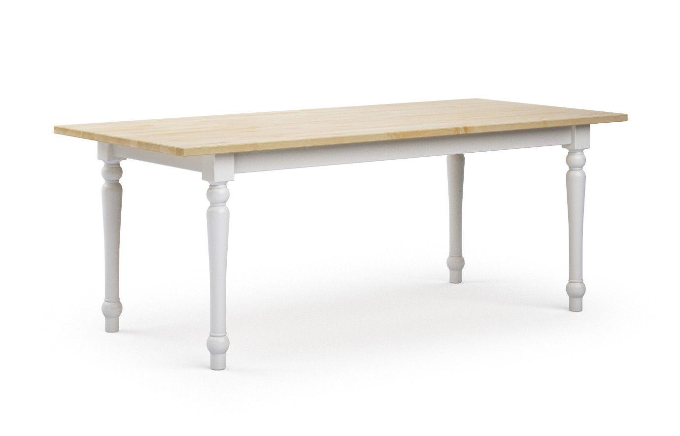 Tisch Ahorn Amuri Massivholz PV 180 X 90 Cm Nein