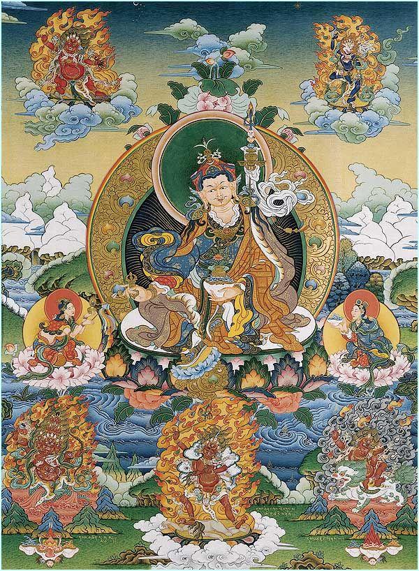 Древо Прибежища Гуру Падмасамбхавы