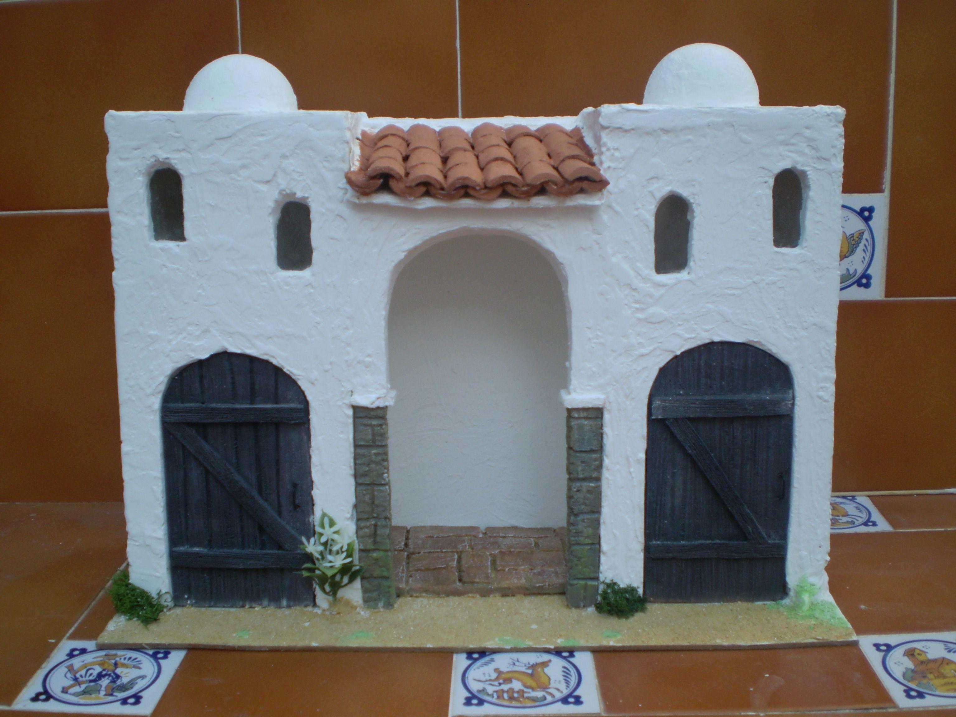 Gallineros belenes cerca con google casitas belenes - Casitas para pesebre de carton ...