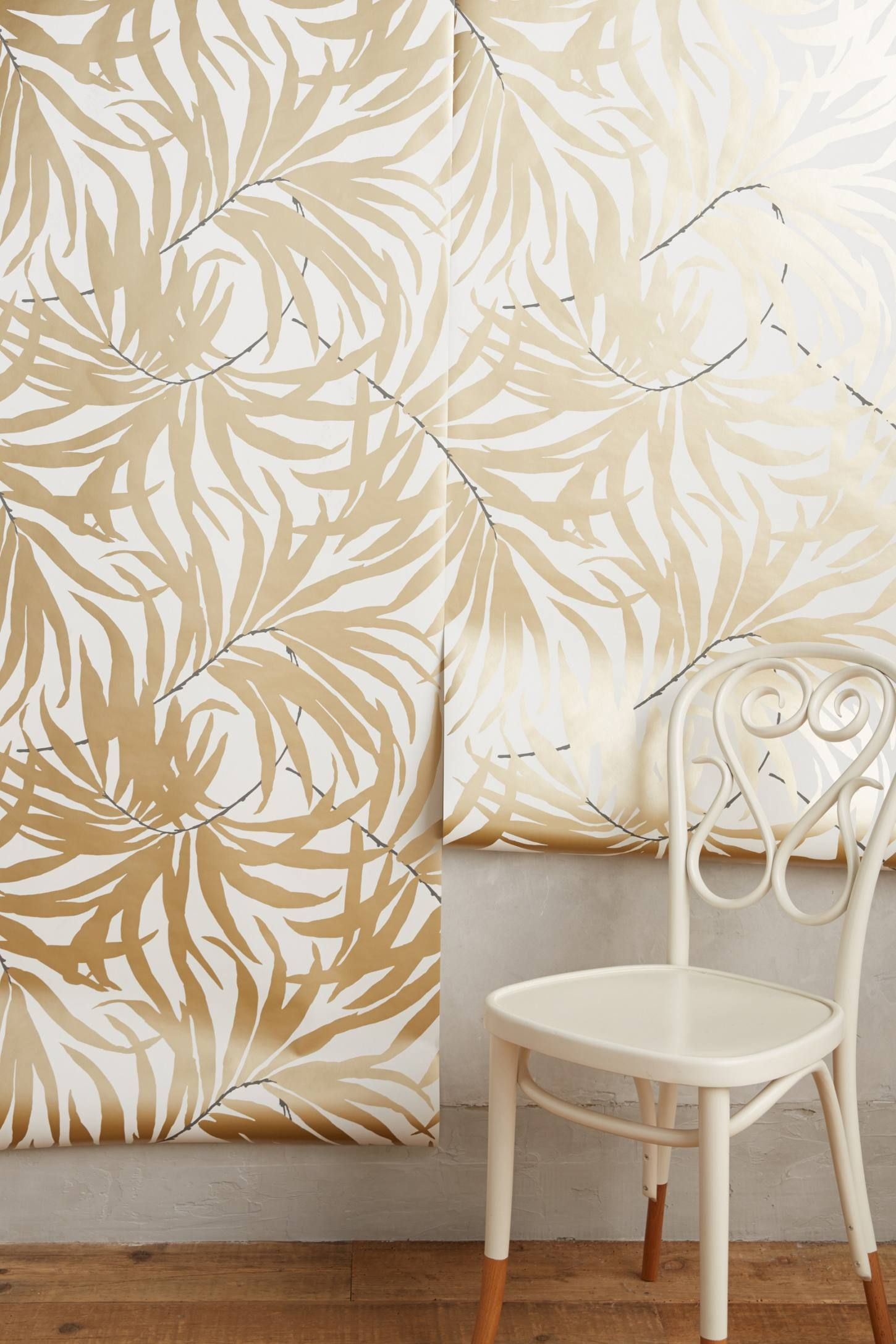Frond Silhouette Wallpaper | Silhouette, Wallpaper and Bathroom things