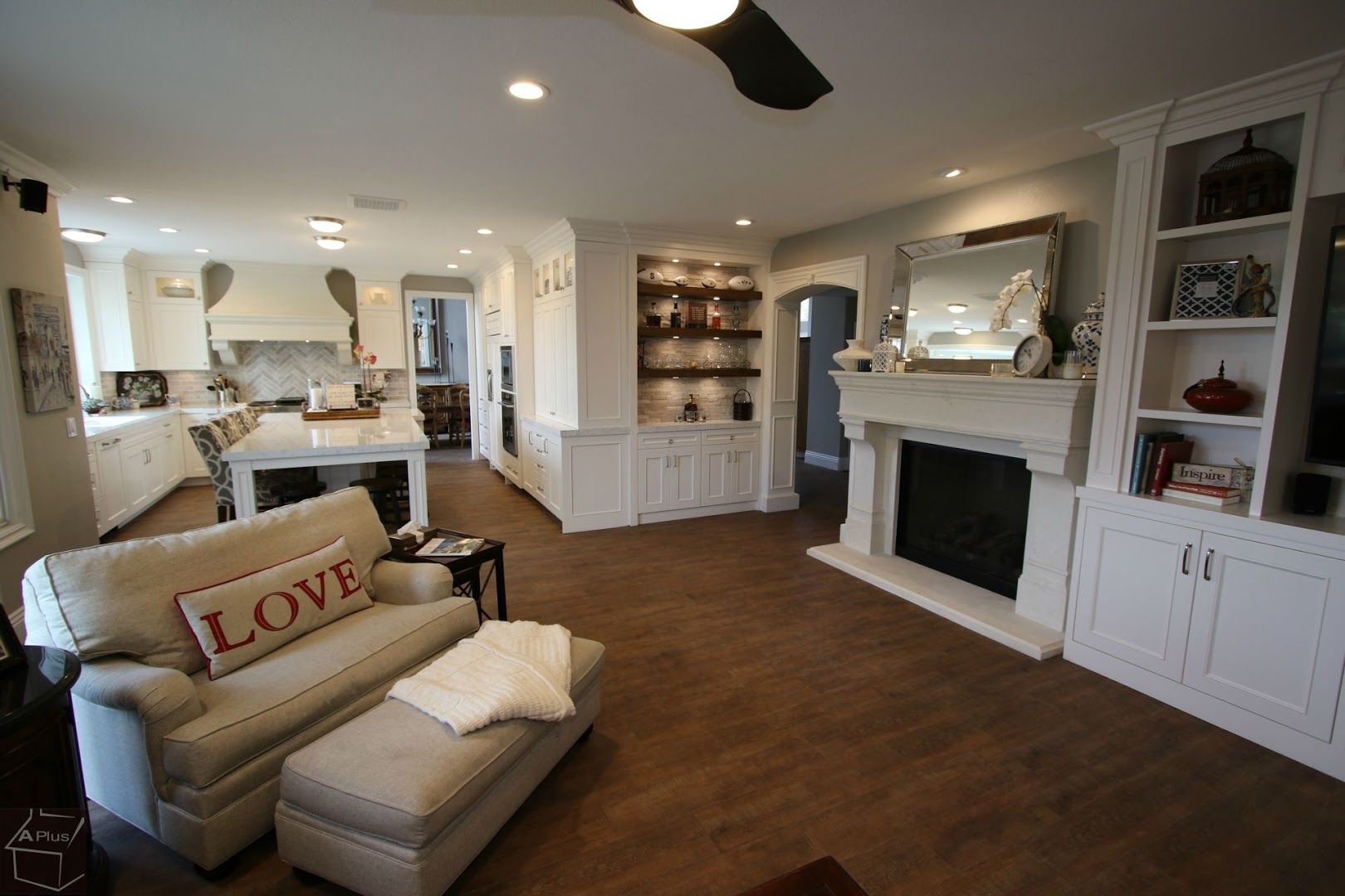 Dove Canyon Design Build Transitional Kitchen Laundry Remodel
