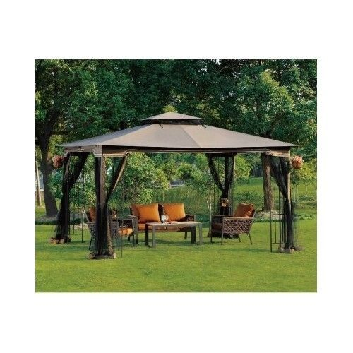Large Outdoor Gazebo Patio Canopy Pergola With Netting Tent Shade Cover Party  sc 1 st  Pinterest & Large Outdoor Gazebo Patio Canopy Pergola With Netting Tent Shade ...