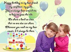 Happy birthday girl cousin quotes google search birthdayd happy birthday girl cousin quotes google search m4hsunfo Gallery