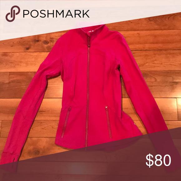 Lululemon Athletics Define Jacket Gently Used Fuchsia Pink Jacket