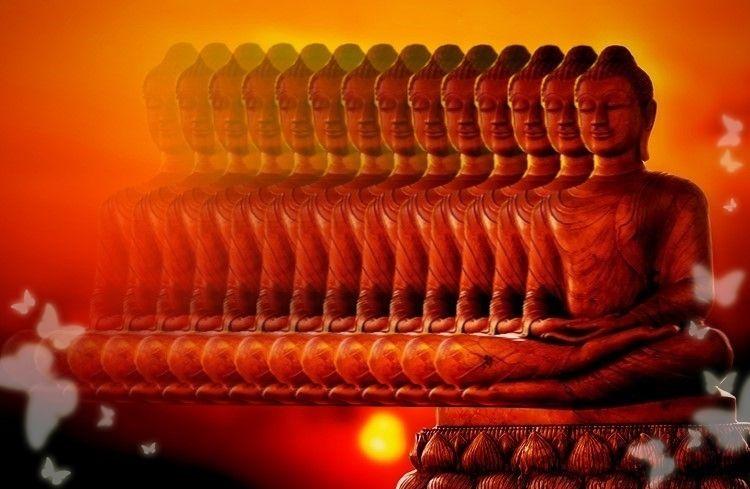 Meditazione Spirituale. Foto costruita da Andrea Alderighi.