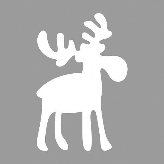 Elch malvorlage - Ausmalbilder für kinder Weihnachten