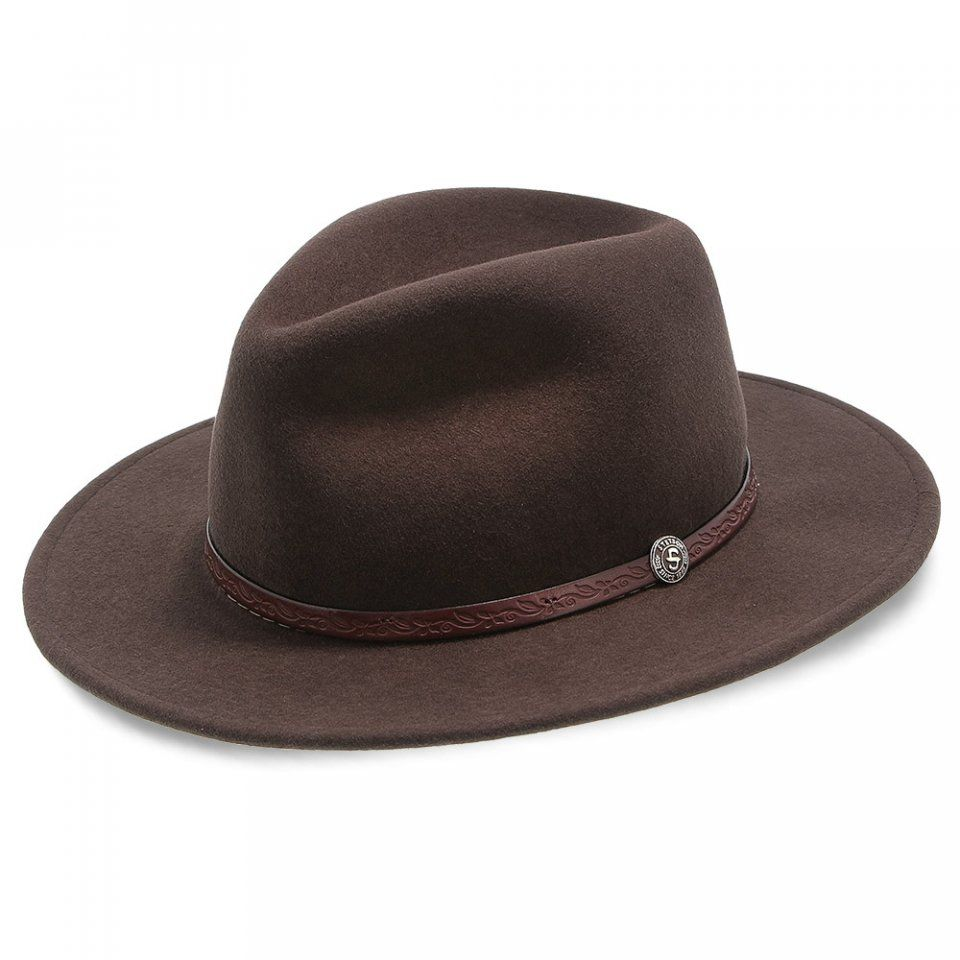 Cromwell - Stetson Crushable Wool Fedora Hat - TWCMWL in 2019 ... f909741d7f2