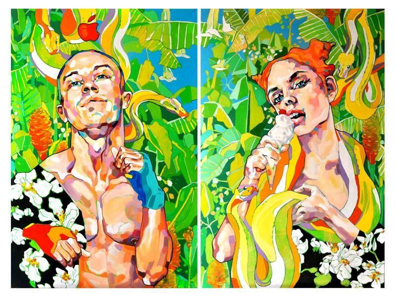 """Adam and Eve"" by Dominik Jasinski"