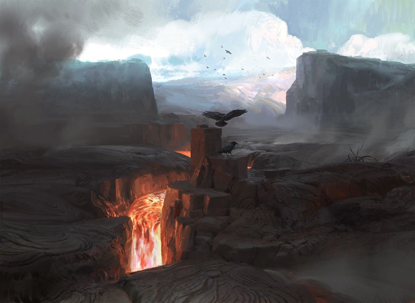 council2.jpg Environment concept art, Art, Fantasy landscape