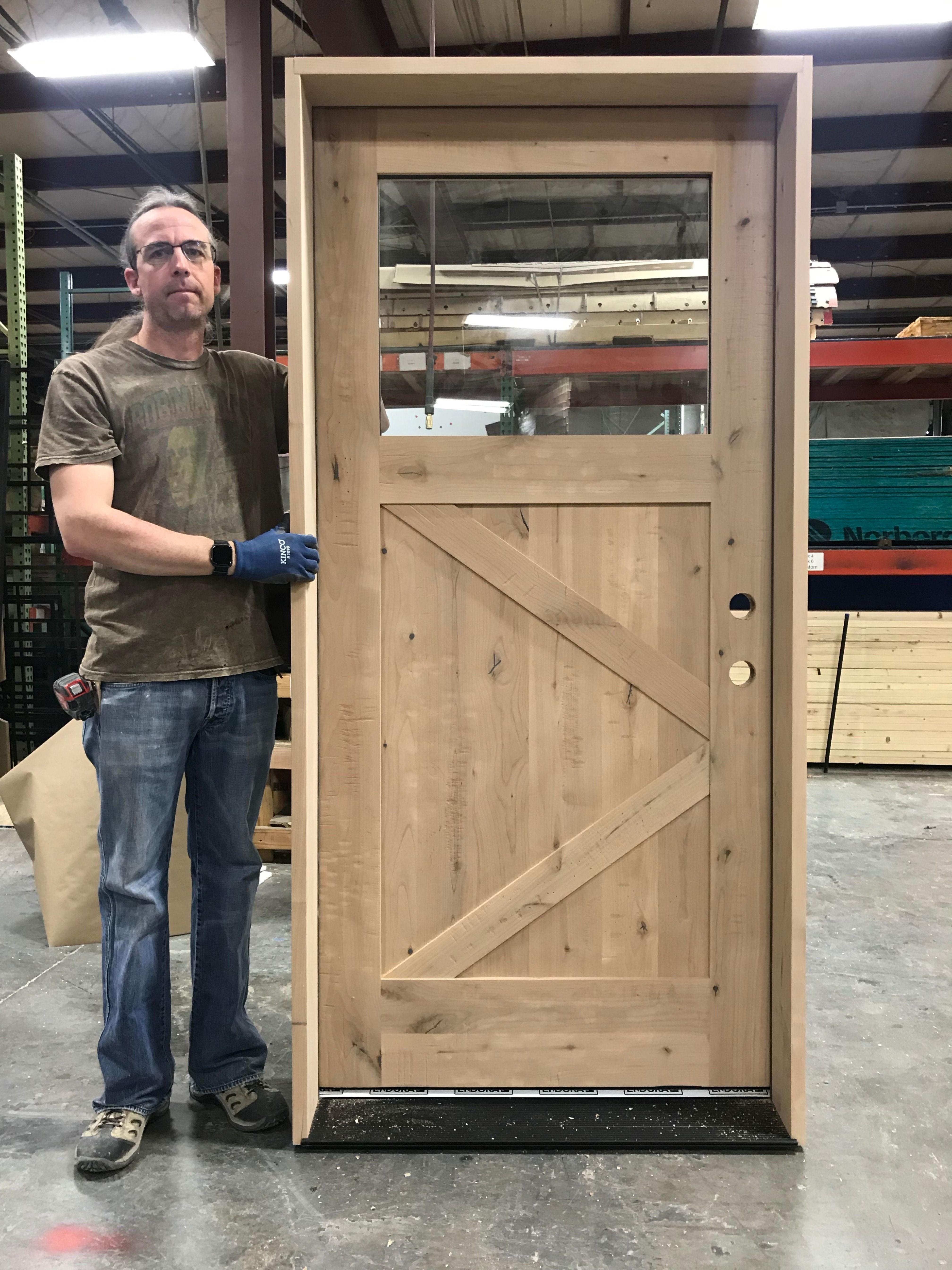 Front Door Diy Exterior Door Garage Workshop Diy Exterior