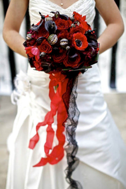 creative diy halloween wedding bouquets ideas bridal show ideas