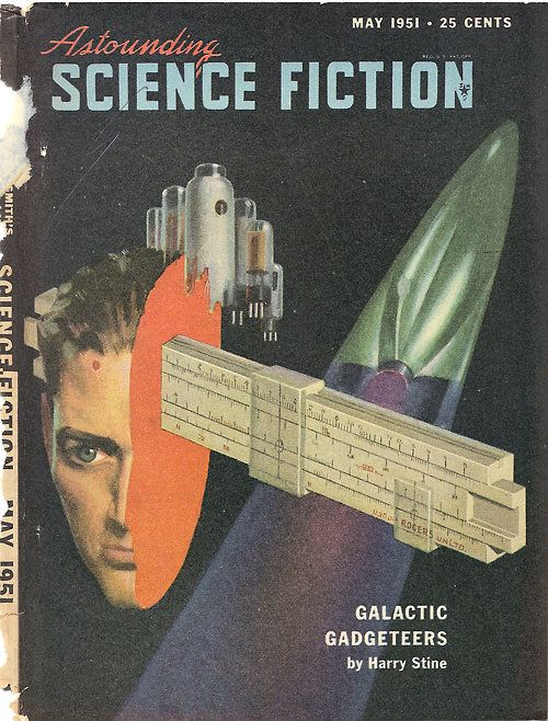Cover art by Hubert Rogers.