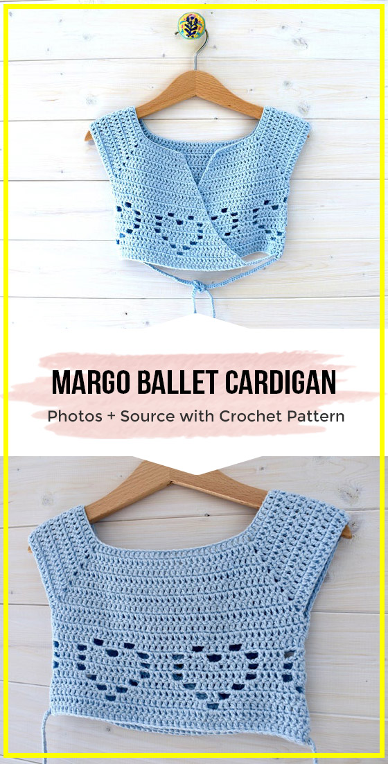 Photo of Crochet Margo Ballet Cardigan