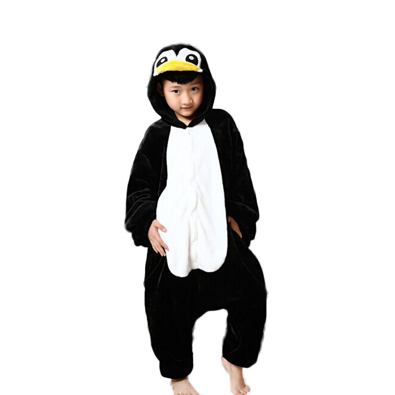 Kids Penguin Onesie Boys Christmas Pajamas Penguin Onesie