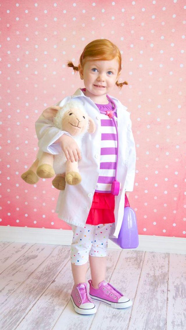 Doc McStuffins Halloween costume  sc 1 st  Pinterest & Doc McStuffins Halloween costume | Holidays | Pinterest | Doc ...