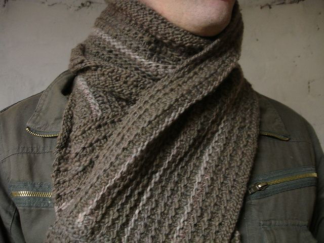 Ravelry: As Manly Scarf pattern by Johanna K Sarten, Wool