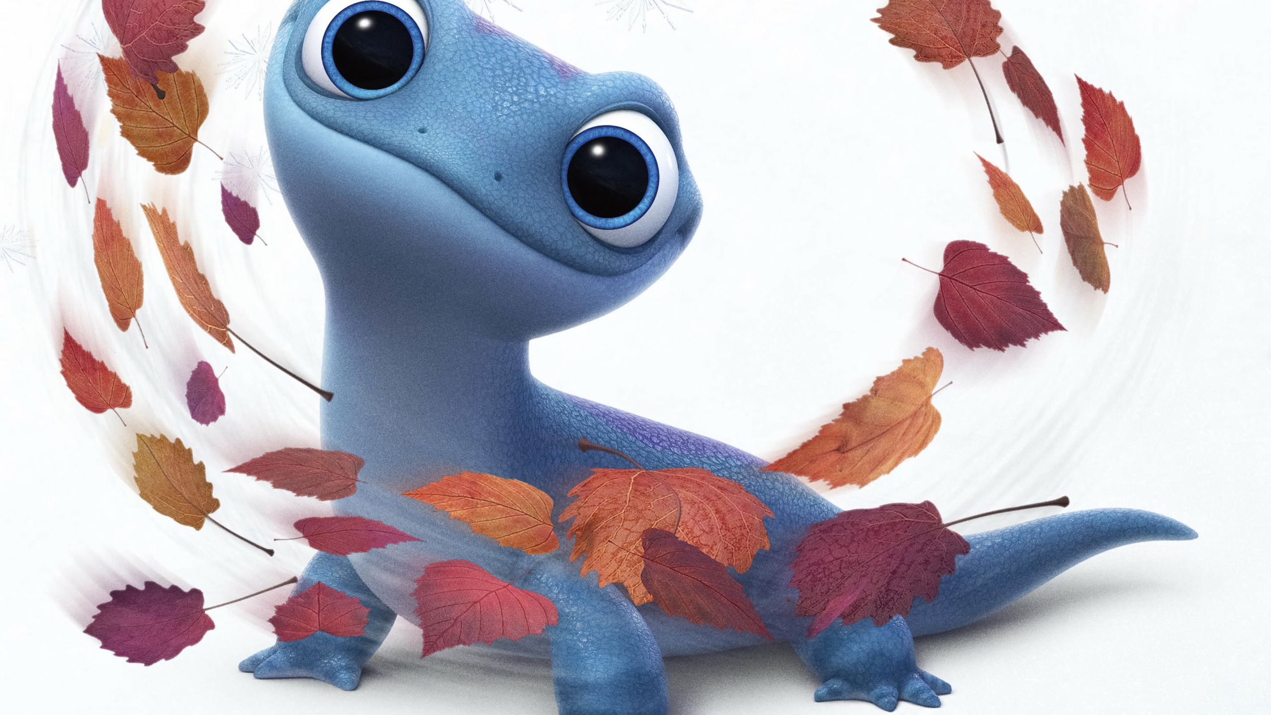 2560x1440 Lizard, cute, Frozen 2, movie wallpaper