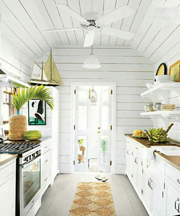 True Coastal Living Beach House Interior Beach House Kitchens