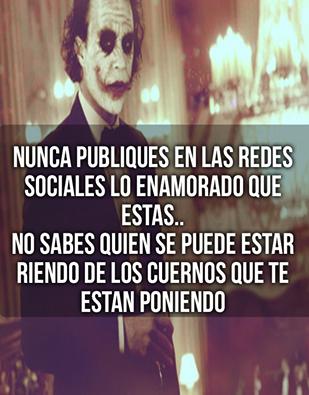 Senor Sarcasmo Unete Lorduy Para Mas Imagenes Good Wife Quotes Joker Quotes Motivational Phrases
