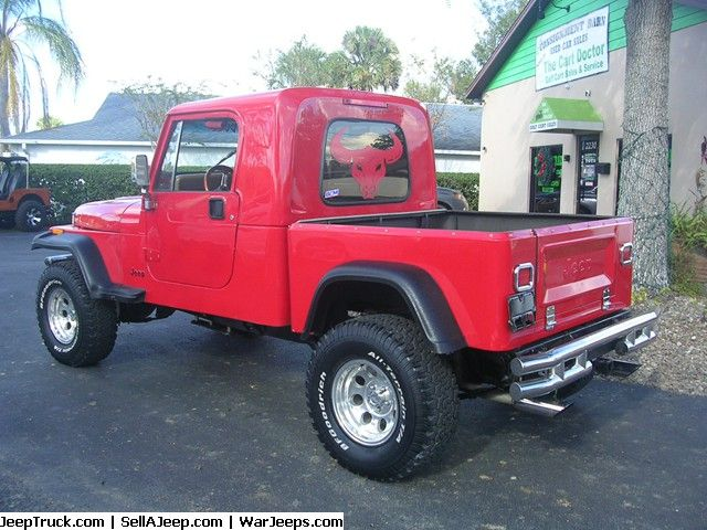 1991 jeep wrangler yj pickup conversion jeeps for sale pinterest jeep jeep truck and. Black Bedroom Furniture Sets. Home Design Ideas