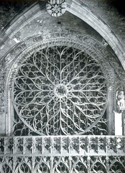 rouen cathedral rose window ma werk pinterest gothik und designs. Black Bedroom Furniture Sets. Home Design Ideas