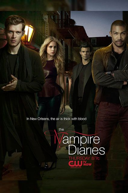 Exclusive Tvd Gets An Original Poster Vampire Diaries The