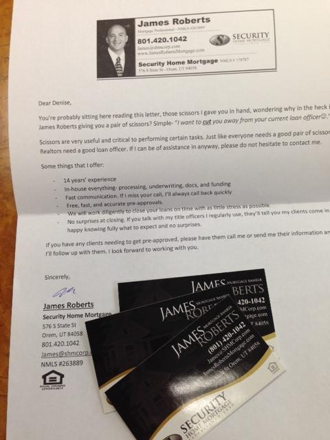 sample letter to loan officer