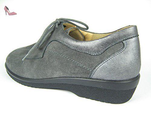 Chaussures 204712 Gris De 62610 À Lacets Femme Pour Ville Ganter EFqBHfB