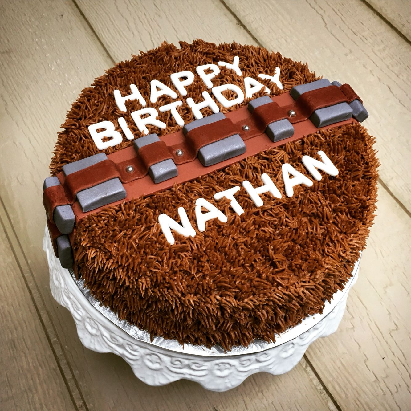 Chewbacca Star Wars Cake 10 Birthday Cake Star Wars Cake Star Wars Cake Toppers