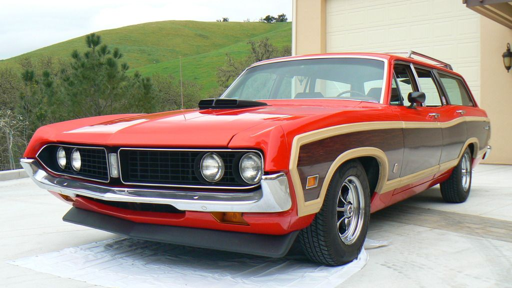 this 1971 ford torino wagon has been with the seller since 2012 and is powered by