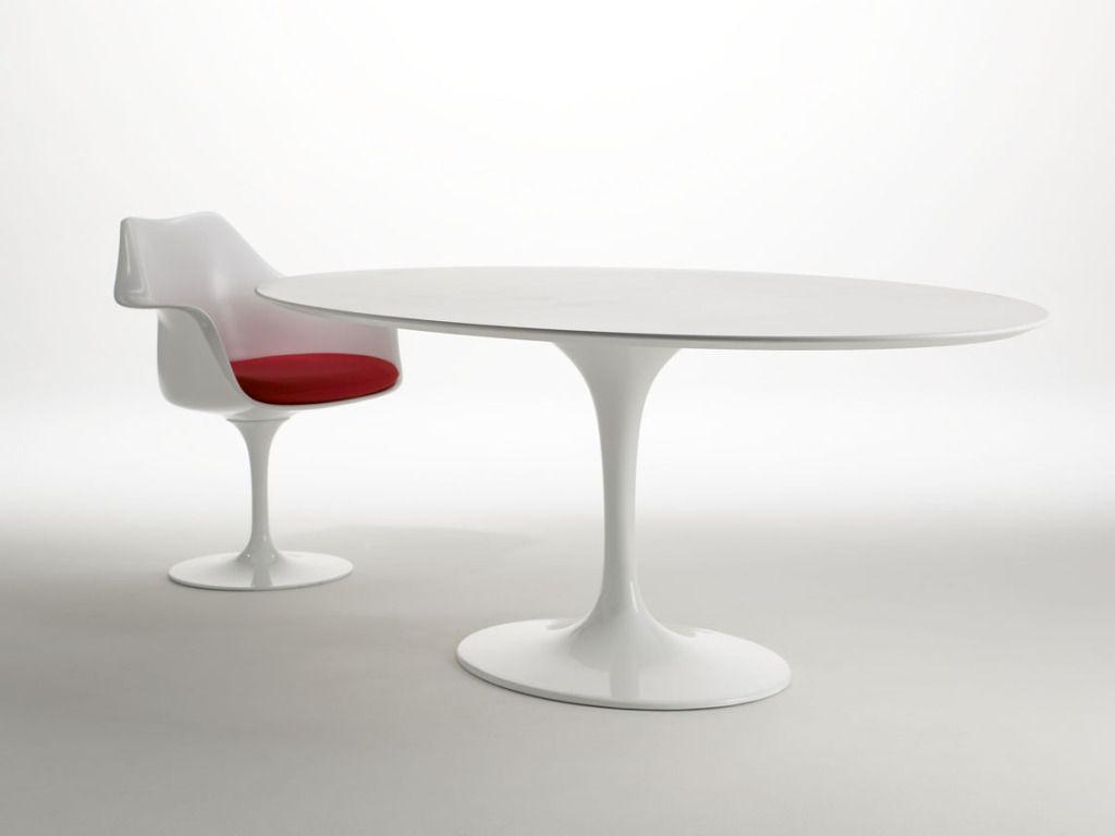 Tulip Chair And Table Knoll By Eero Saarinen Sillas Estilo