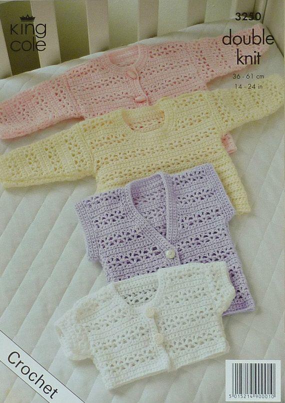Baby Crochet Pattern C3250 Crochet Pattern Babies/Toddlers ...
