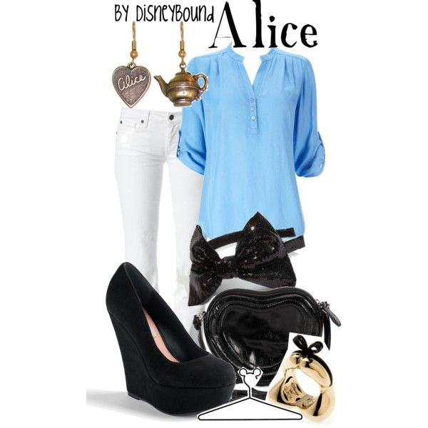 Alice, created by lalakay Disneybound