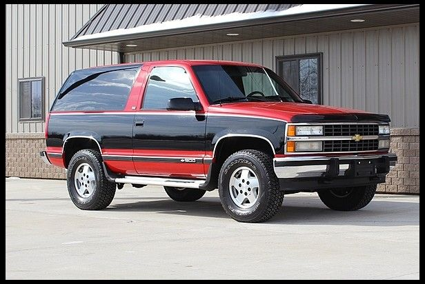 1992 Chevrolet Blazer Original Paint And Interior At Mecum Auctions Chevrolet Blazer Chevrolet Chevy Trucks