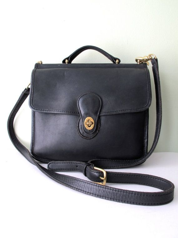 The Classic Wallis Bag By Coach This Was My First You Know Re Getting Old When Your Is Considered Vintage