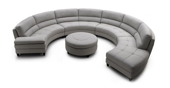 Living Room Design - Best Curved Sectional Sofas