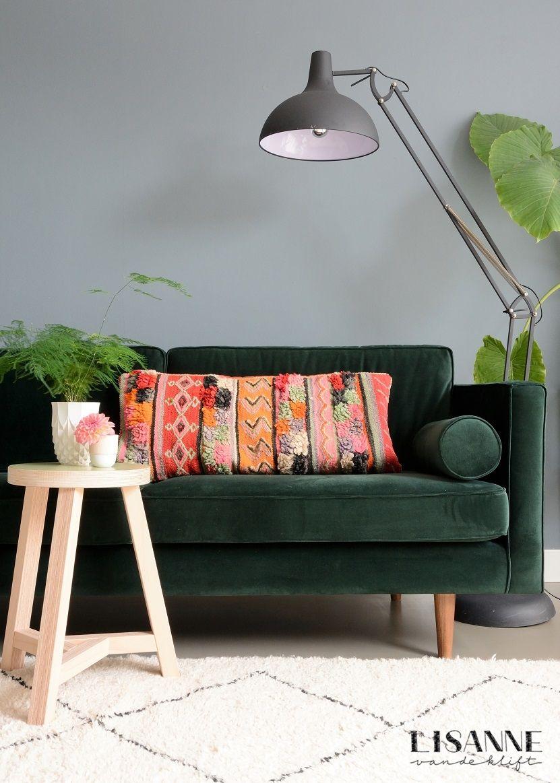 Urban Green Sofacompany Lisanne Van De Klift In 2020 Meubel Ideeen Decoraties Thuis