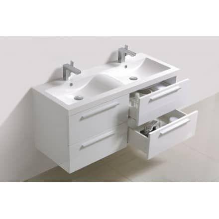BadmöbelSet R1200 Weiß optionale Elemente wählbar