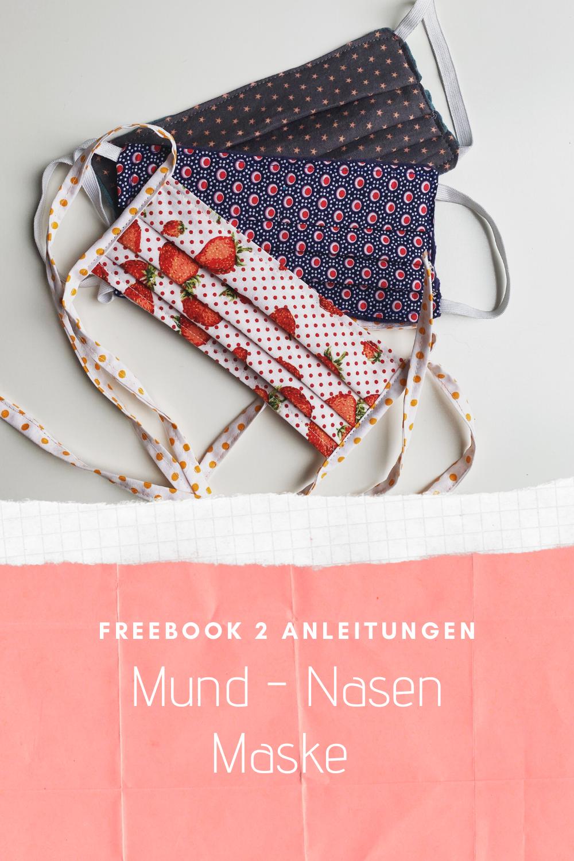 Mund-Nasen-Maske nähen - Anleitung - Sara & Julez