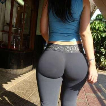 yoga Tight pants public ass
