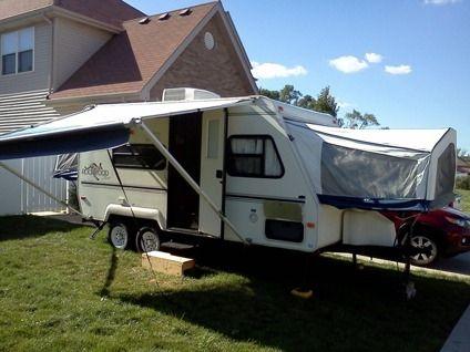 4 200 Obo 2002 Rockwood Roo Hybrid Camper 18foot Hybrid Camper