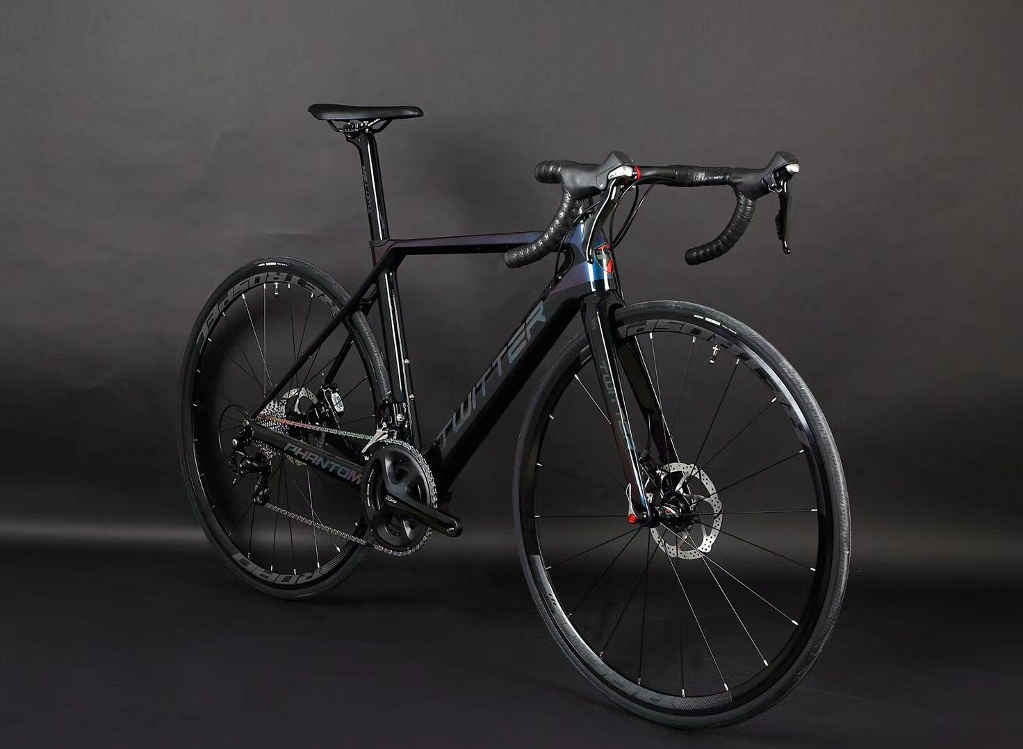 bcb5d3beeea TWITTER carbon road bike of PHANTOM-OFF Road, with SHIMANO SORA/R3000-