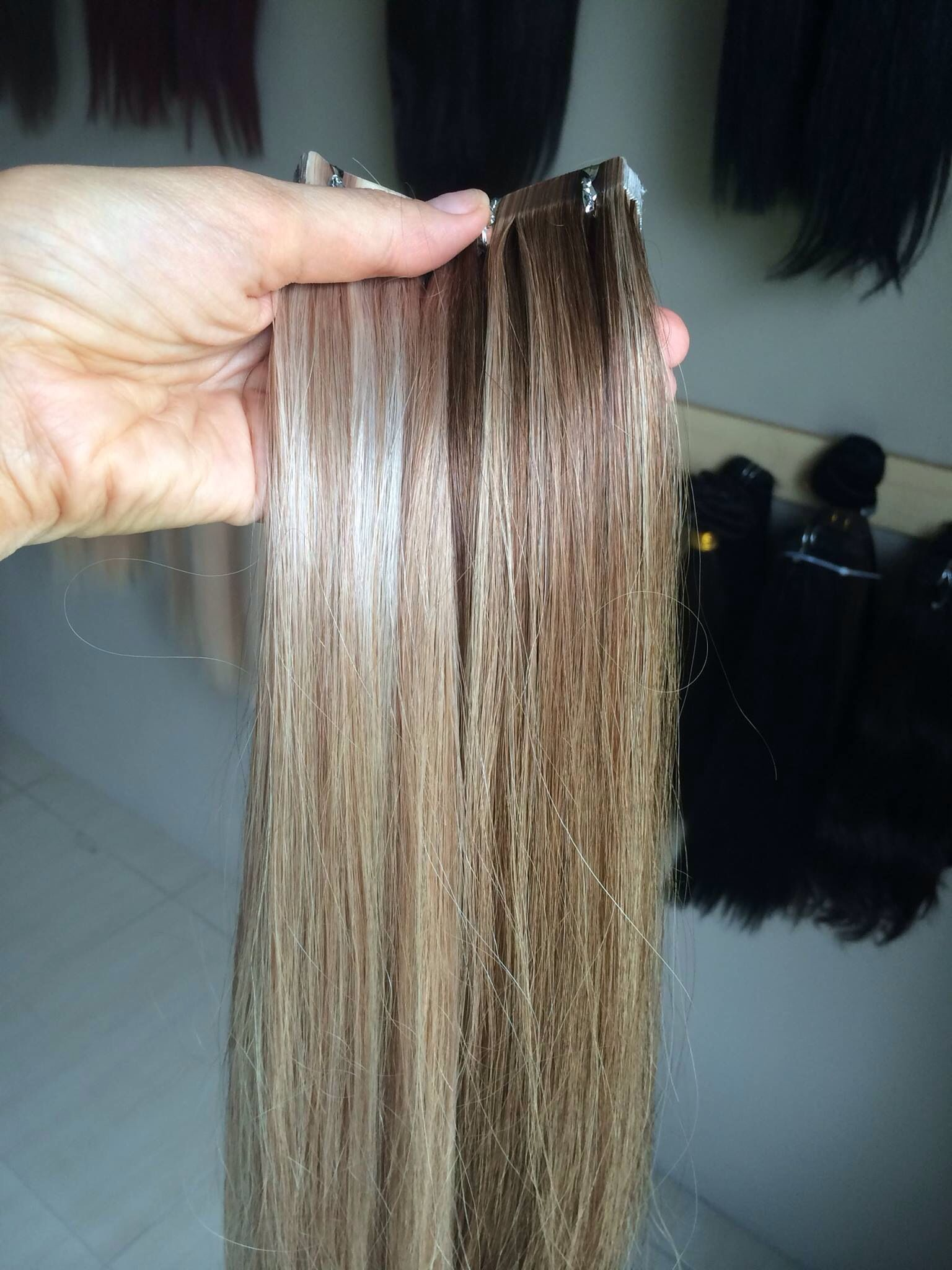 Perfect Seamless Tape Strands Of Love Hair Extensions Strands Of