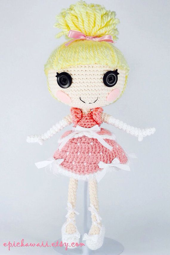 CUSTOM DOLL Lalaloopsy Amigurumi Doll by epickawaii on Etsy ...