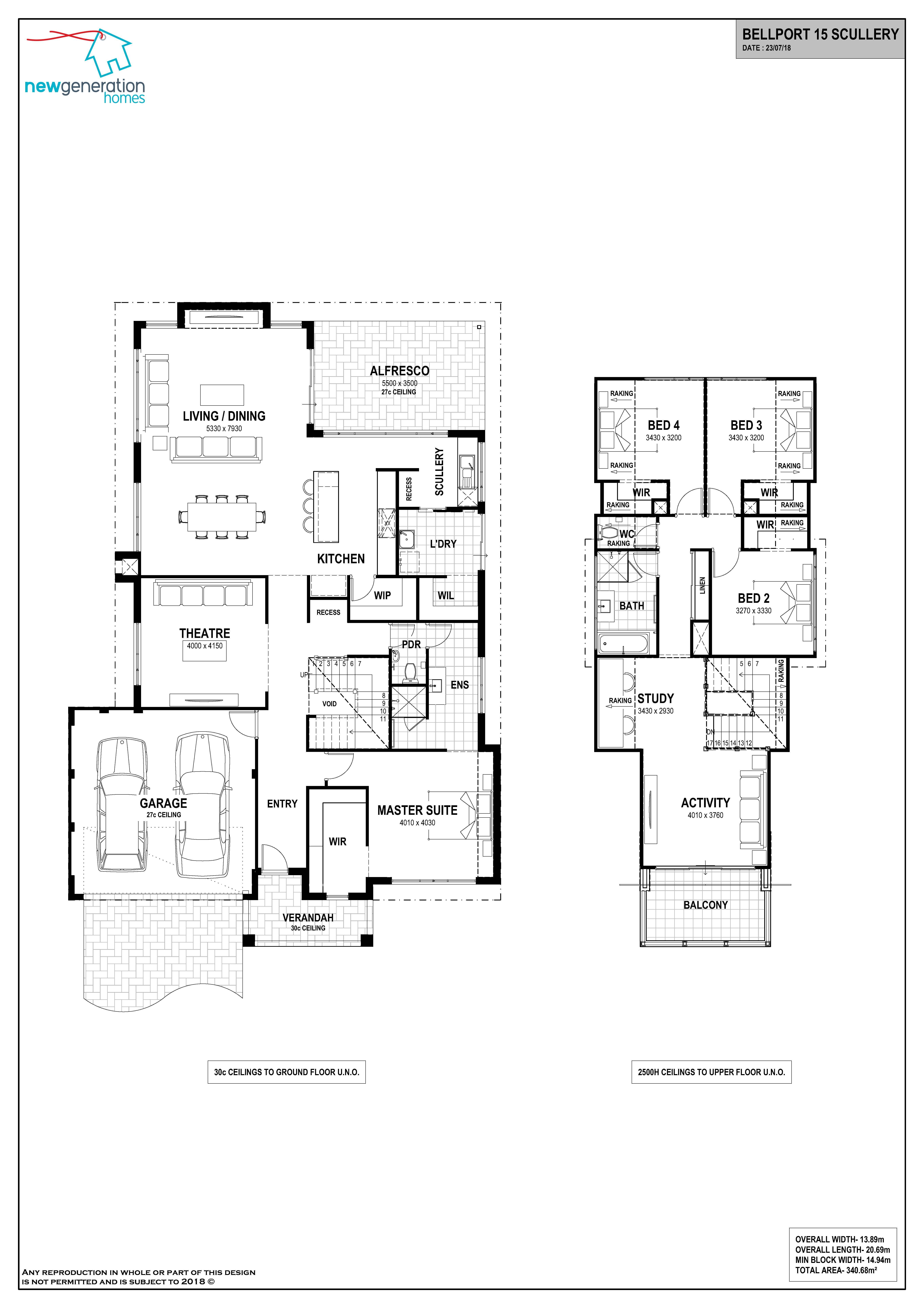 Loft Homes Perth House Plans Perth Bellport 15 Scullery